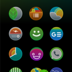 Gradeon – A Rounded Neon Icon Pack vtelung_wulan [Patched] APK Free Download