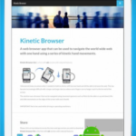 Kinetic Browser HD v1.5 (Paid) APK Free Download