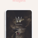 Lucent KWGT – Translucence Based Widgets v1.2 [Paid] APK Free Download