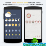 ModArt Weather for KLWP – KWGT v2.2.1 [Paid] APK Free Download