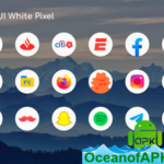 OneUI 2 White – Round Icon Pack v1.5 [Patched] APK Free Download