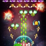Space Shooter : Galaxy Attack v1.387 (Mod Money) APK Free Download