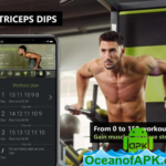 150 Triceps Dips – Bigger Chest Workout v2.8.5 (Premium) APK Free Download