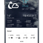 1Weather: Forecasts, Widgets, Snow Alerts & Radar v4.5.6.0 [Pro] APK Free Download