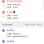 Czech Public Transport IDOS v2.7.0 [Ad-Free] APK Free Download