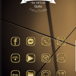 Gold – Icon Pack exclusive themes v13Luxury edition 2019 [Patched] APK Free Download