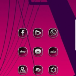 Silver Crystal Glass – Icons pack Theme WALLPAPER v10.2020 [P] APK Free Download
