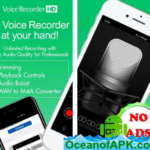 Voice Recorder High Quality Audio Recording v1.1.3 [Ads -Free] APK Free Download