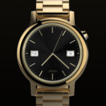 Watch Face Executive Gold Shade Wear OS Smartwatch v1.03 [Paid] APK Free Download