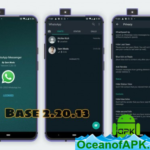 WhatsApp Messenger v2.20.13 Mod [Dark With Privacy] APK Free Download