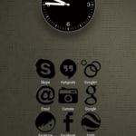 Black-PD Icon Pack v1.2 [Paid] APK Free Download