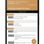 Deliveries Package Tracker v5.7.3 [Pro] [Mod] [SAP] APK Free Download