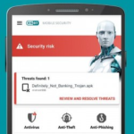 ESET Mobile Security & Antivirus v5.3.19.0 + Keys APK Free Download