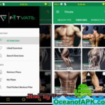Fitvate Gym Workout Trainer Fitness Coach Plans v6.0 [Mod] APK Free Download