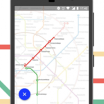 Moscow metro map. Saint-Petersburg, Kazan v2.9.19a [Unlocked] APK Free Download