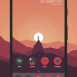 Sagon Circle Icon Pack: Dark UI v9.4 [Patched] APK Free Download
