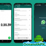 WhatsApp Messenger v2.20.55 Mod [Dark With Privacy] APK Free Download