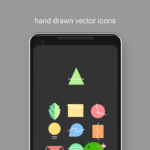 Appstract Icon Pack (Dark Theme) v2.3 [Patched] APK Free Download