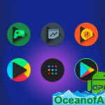 Baked – Dark Android Pie Icon Pack v2.9 [Patched] APK Free Download