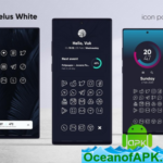 Caelus White Icon Pack – White Linear Icons v2.1 [Patched] APK Free Download