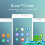 Grace UX Pixel – Icon Pack v2.3.0 [Patched] APK Free Download