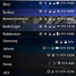 StatusBar Icon Mod for Samsung [Substratum] v2.0 [Patched] APK Free Download