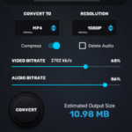Video Converter, Compressor MP4, 3GP, MKV,MOV, AVI v0.1.3 [Pro] APK Free Download
