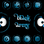 Black Army Sapphire – Icon Pack – Fresh dashboard v31.0 [Patched] APK Free Download