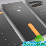Dark Flow TS2B UI for Klwp v7.3 [Paid] APK Free Download