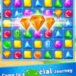 Jewel Crush: Jewels & Gems Match 3 Legend v3.9.5 (Mod Money) APK Free Download