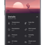 Overdrop Weather — Animated Forecast & Widgets v1.5.5.2 [Final] [Pro] APK Free Download