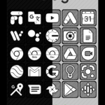 Raya Black Icon Pack – 100% Black v21.0 [Patched] APK Free Download