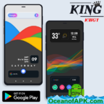 KinG KWGT v2.0 [Paid] APK Free Download