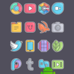 Olympia Sticker – Icon Pack v1.0 [Patched] APK Free Download