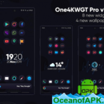 One4KWGT Pro – widgets for KWGT v2.8 [Patched] APK Free Download