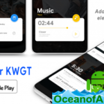 Wave KWGT v4.6 [Paid] APK Free Download