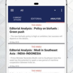 Daily Editorial – Vocabulary & Current affairs v1.8.2 [Pro] APK Free Download