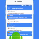Speak and Translate Voice Translator & Interpreter v3.7.6 [PRO] APK Free Download