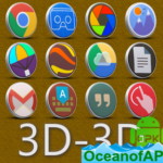 3D-3D – icon pack v3.3.7 [Patched] APK Free Download