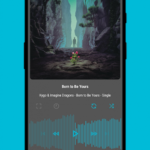 Aurora – Material Poweramp v3 Skin v4.0 [Paid] APK Free Download