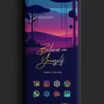 Color Line DARK Icon Pack v1.2 [Patched] APK Free Download