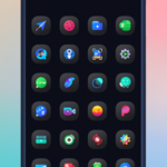 Mignon Dark Icon Pack v1.0.0 [Patched] APK Free Download