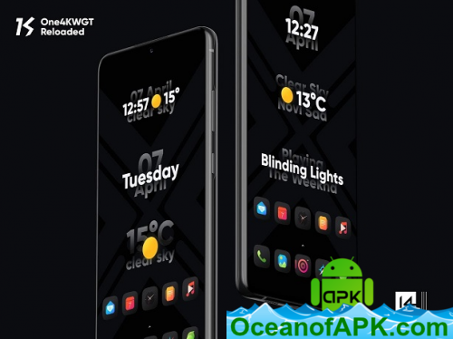 One4KWGT Reloaded - widgets for KWGT v1.7 Patched APK ...