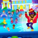 Partymasters Fun Idle Game v1.2.9 (Mod Money) APK Free Download