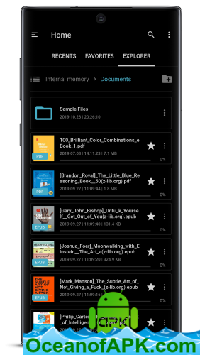 FullReader - all e-book formats reader v4.2.7 build 254 [Premium] APK Free Download - OceanofAPK