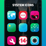 Juno Icon Pack – Rounded Square Icons v4.6 [Patched] APK Free Download