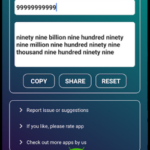Number to word converter offline v1.3 [Paid] APK Free Download
