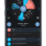 Sectograph. Planner & Time manager on clock widget v5.18 [Pro] APK Free Download