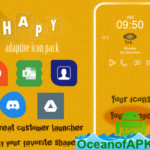 Shapy – Adaptive Icon Pack v2.0 (Patched) APK Free Download