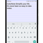 ColorNote Notepad Notes v4.2.5 APK Free Download